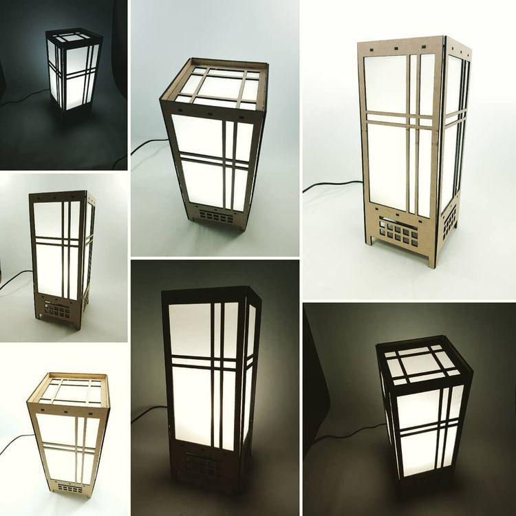 ANDON LAMP 14.00 35.00 cm 3 mm  - miklosdesign | ello