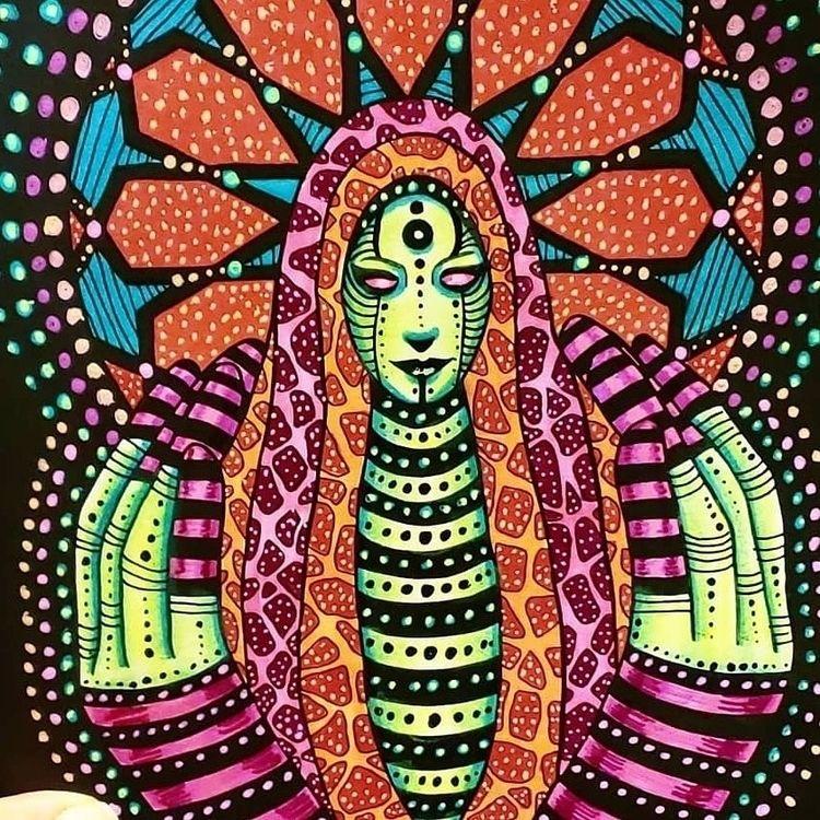 Nurturer Visions Mystical color - oracleilluminated | ello