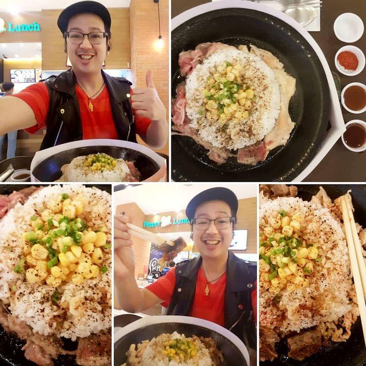 Beef Pepper Rice Salmon Lunch d - vicsimon | ello