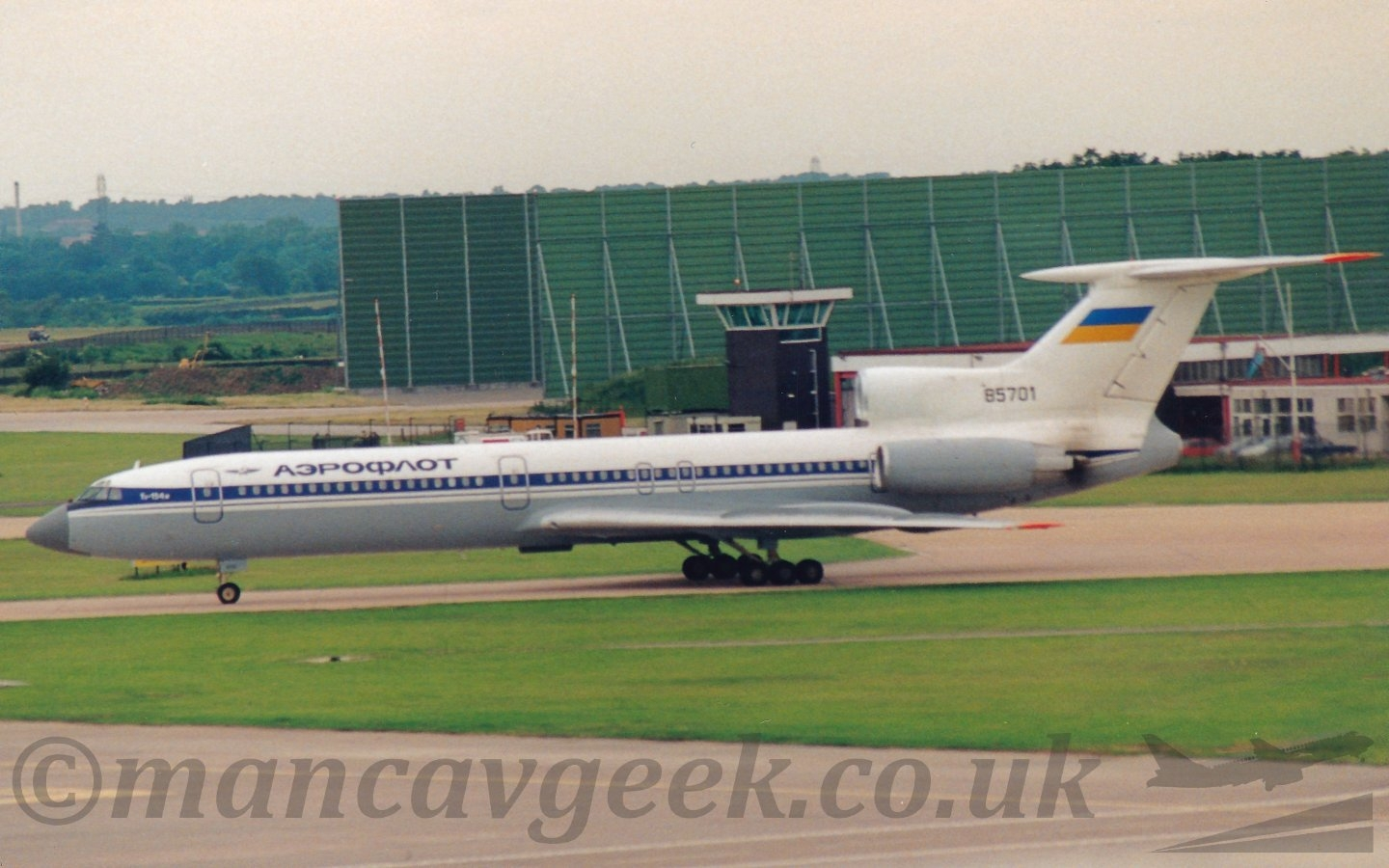 UR-85701, Tupolev Tu154, Air Uk - mancavgeek | ello