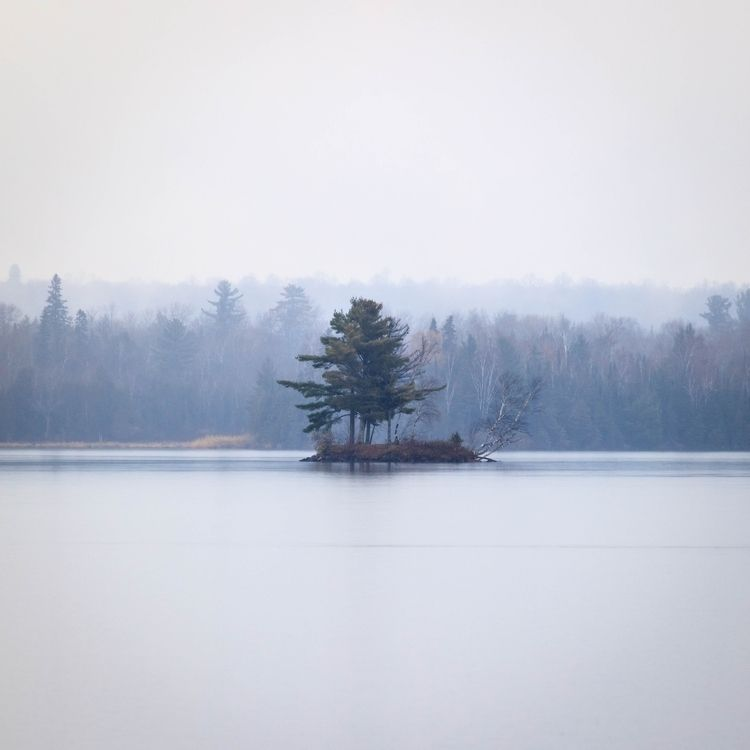 lone tree tiny island. Boulder  - toddhphoto | ello