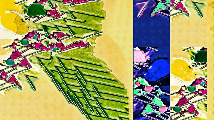 Hawaiian garden - P5, PS, graffiti - ericfickes | ello