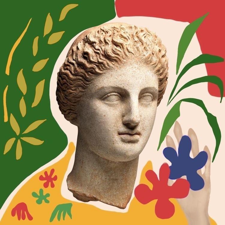 Inspired Henri Matisse. chose M - lasha_beraia | ello
