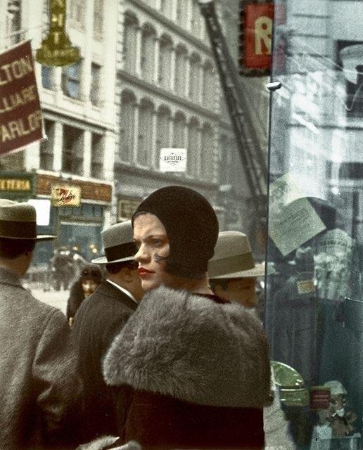 1929 Girl Fulton Street, York 2 - marie_lou_chatel | ello