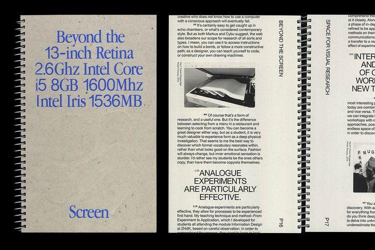 Book design Screen' designed UK - northeastco | ello