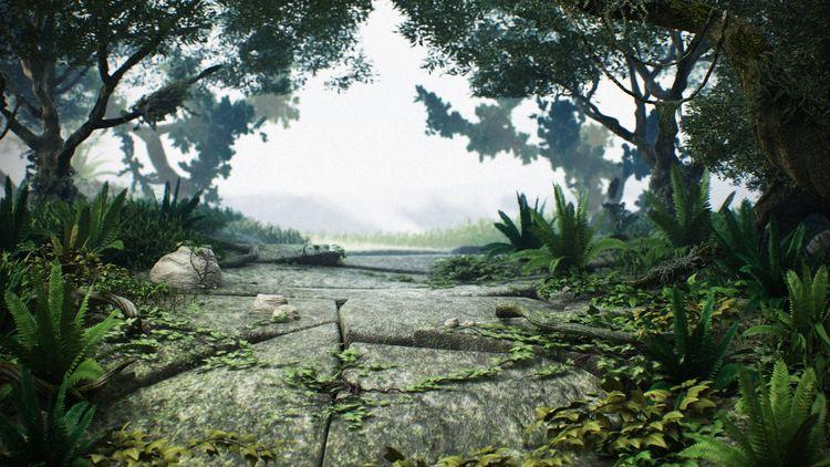 Forest - forest, 3d, 3dsmax, photoshop - alemartins_art | ello