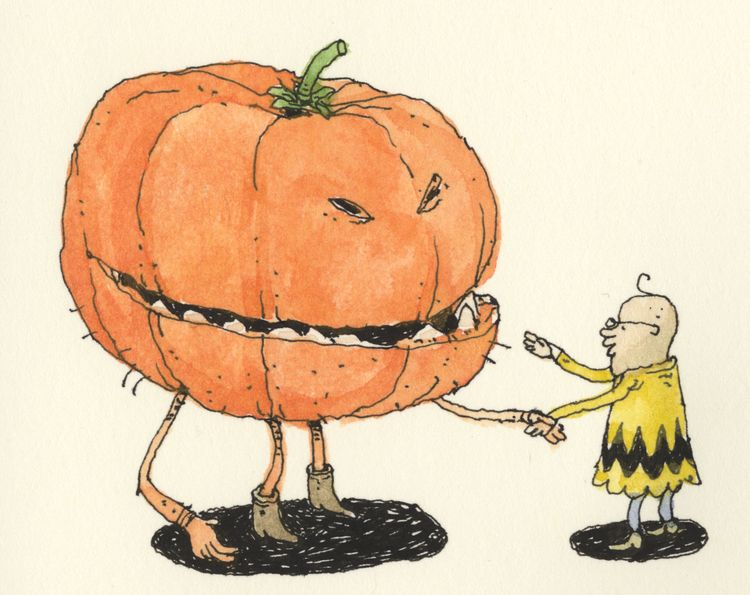 Meeting Great Pumpkin - mattiasadolfsson   ello