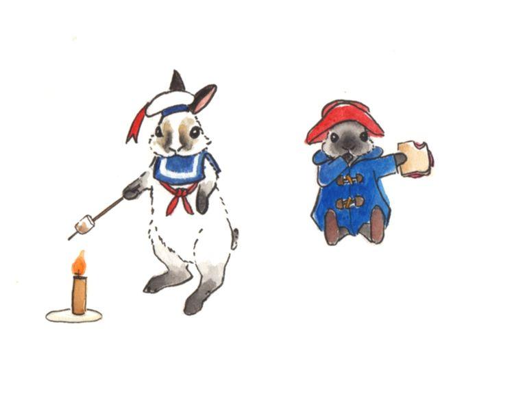 Feels odd draw bunnies Inktober - j0eyg1rl | ello