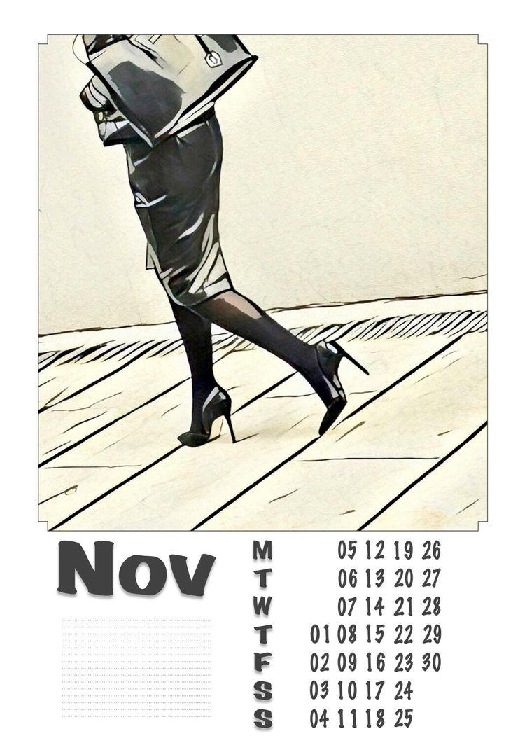 | November - Legs, Heels, Photography - ziolele | ello