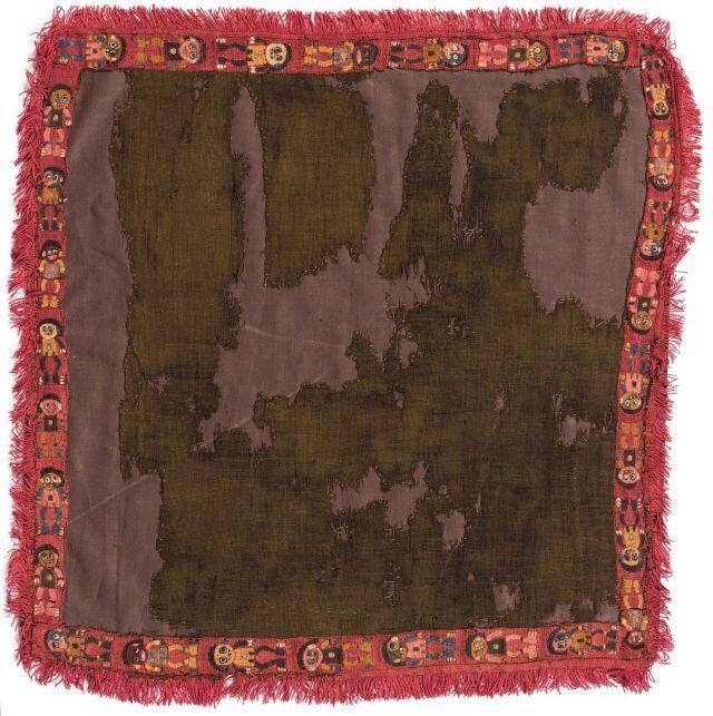 Paracas mantles - design, textile - modernism_is_crap   ello