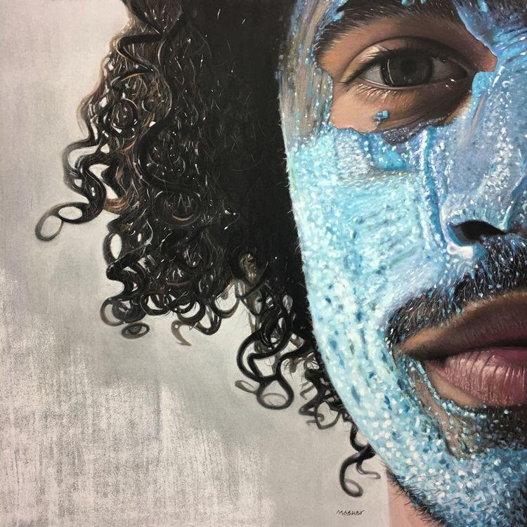 'Modern Man' 16 Pastel 2018 Jur - micheleashby | ello