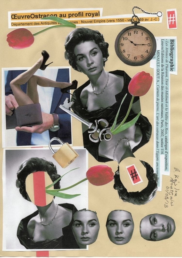 01-08-2018 Untitled A4 - Handcu - b_kaslou_collage_art | ello