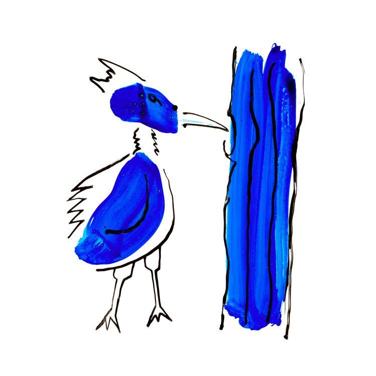 Blue Bird Digital Work paper, i - istvanocztos | ello