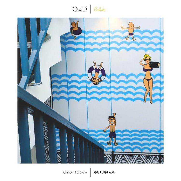 Climbing stairs 5-floor home =  - oyoxdesign   ello