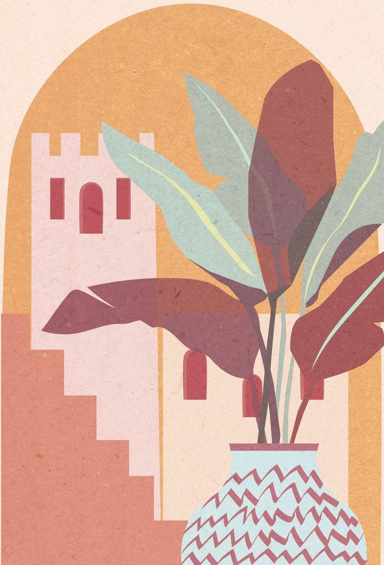 Marrakech collection illustrati - tatadart | ello