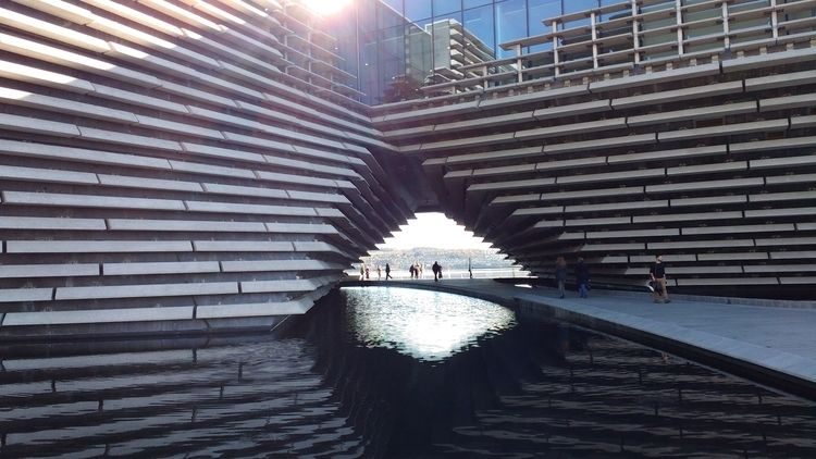 VA, Dundee - museums, VADundee, architecture - firehorsetextiles | ello