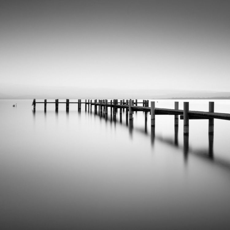 Black White Seascape Waterscape - photogrist   ello