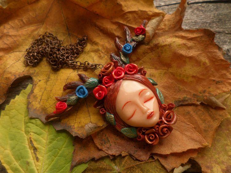 jewelry, handmade, goddess, forest - abigailsmycken | ello