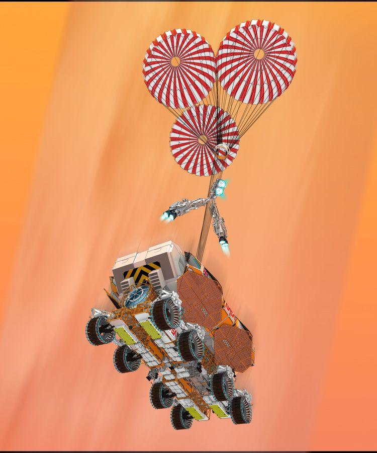 Discovery Mobile Habitat rover  - scifi88 | ello