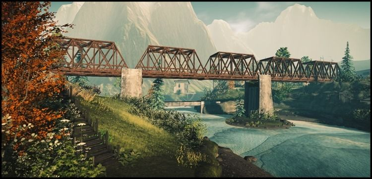 Cold Ash ~ - Secondlife, Bridge - vivography | ello