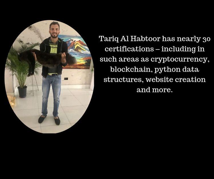 Tariq Al Habtoor 30 certificati - tariqalhabtoor   ello
