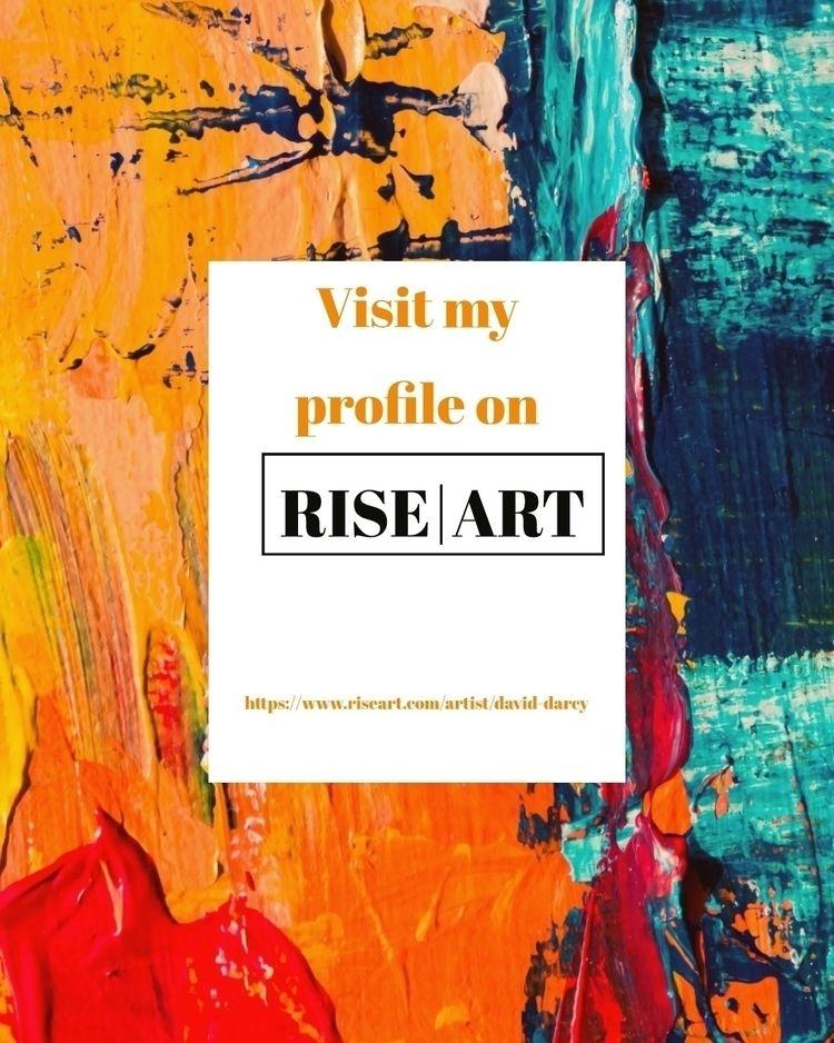 profile, riseart, artforsale - darcyarts | ello