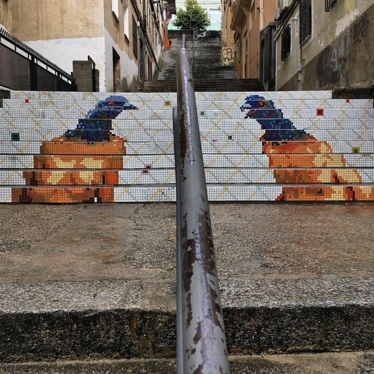 Birdie - Santander, streetart, street - antoniofse | ello
