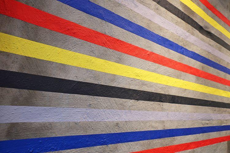 Tape installation 'De Stijl de  - daan_haendehoch | ello
