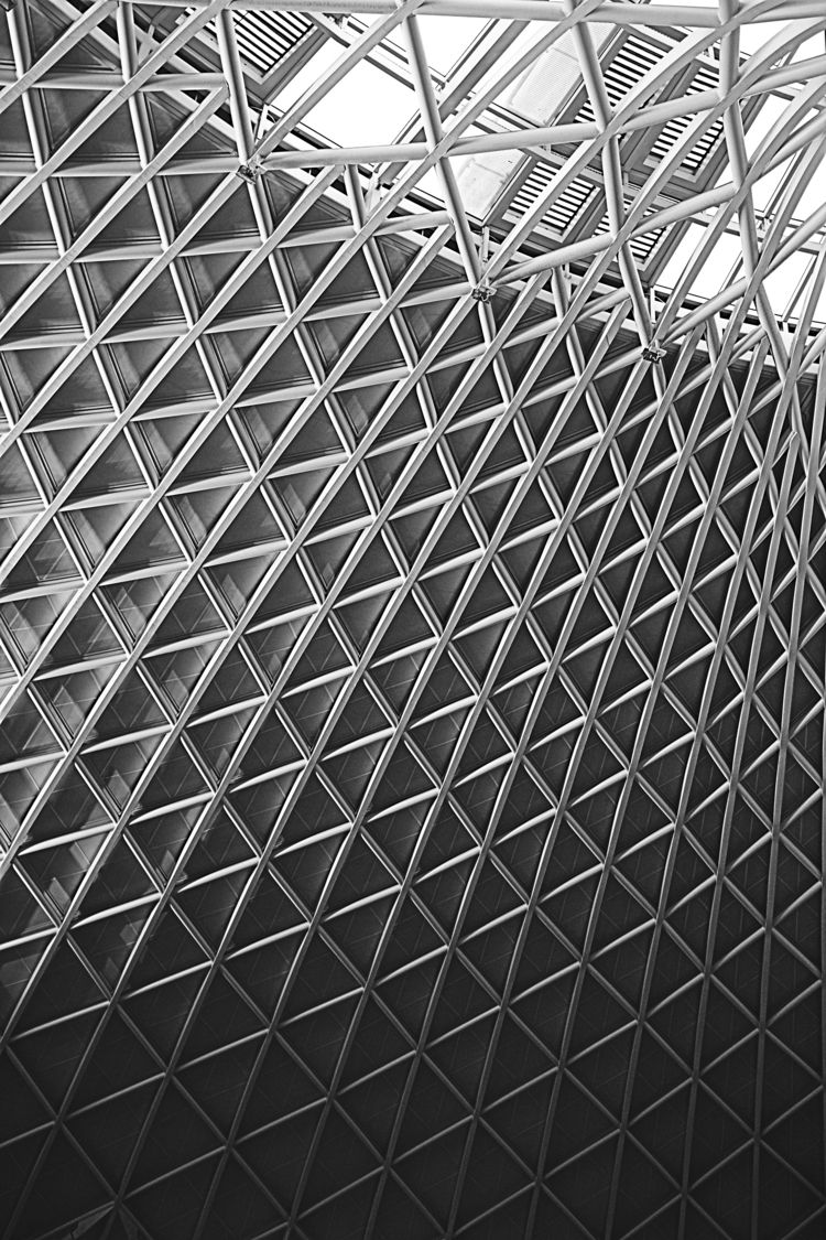 King Cross ticket hall - architecture - pdjbarber | ello