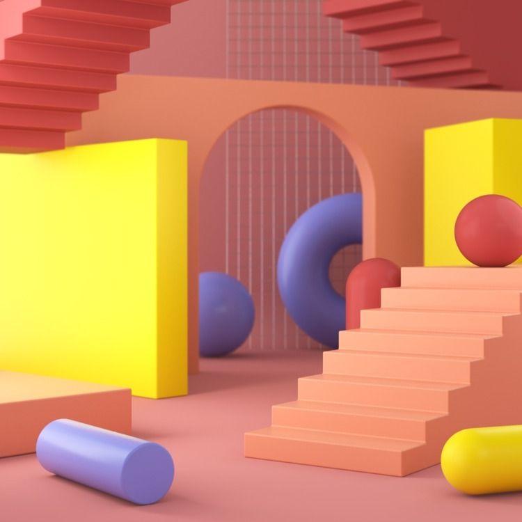 099 - AbstractShiz, cinema4d, design - hashmukh | ello