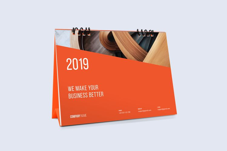 Desk Calendar 2019 - nikolastosic_ | ello