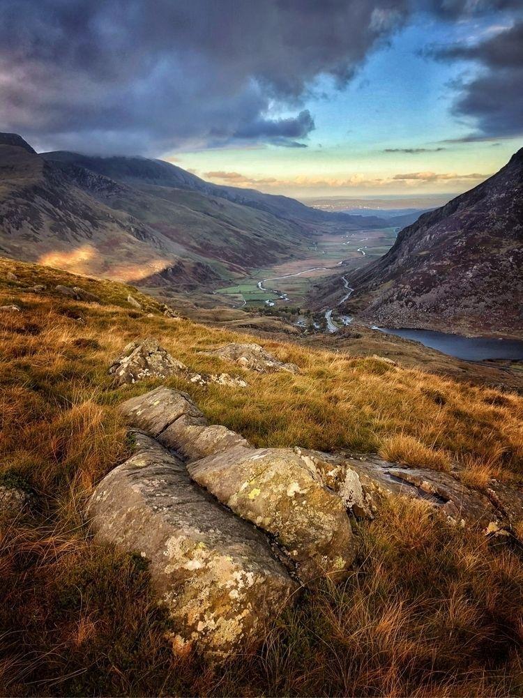 Nant Ffrancon Pass Snowdonia, A - paulbullen | ello