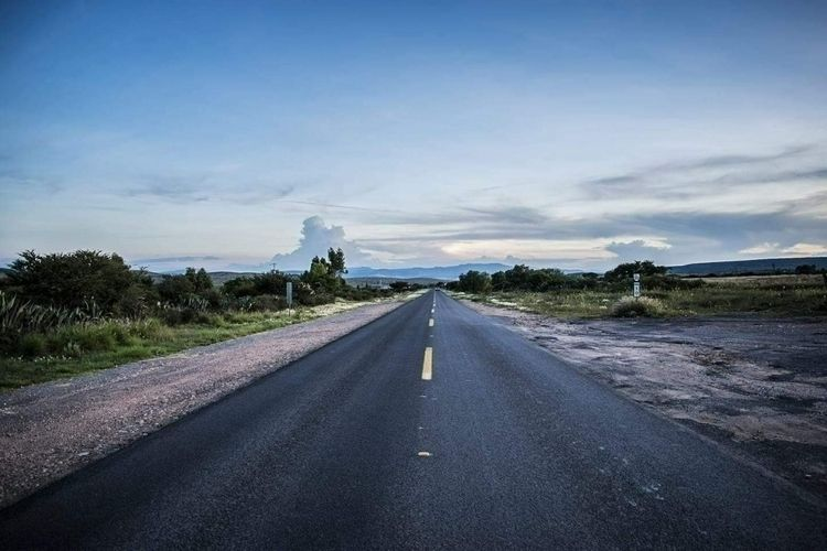 roads, colors, sky, clouds, nofilter - ismaelpb | ello