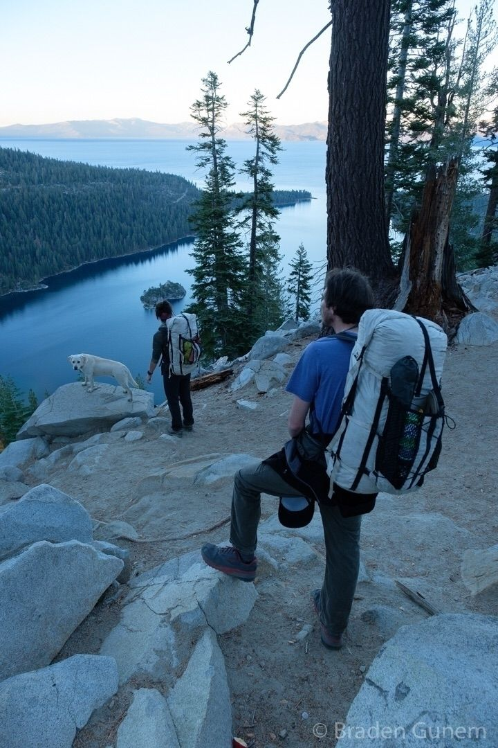 Lake Tahoe - backpacking, fujifilm - bradengunem | ello