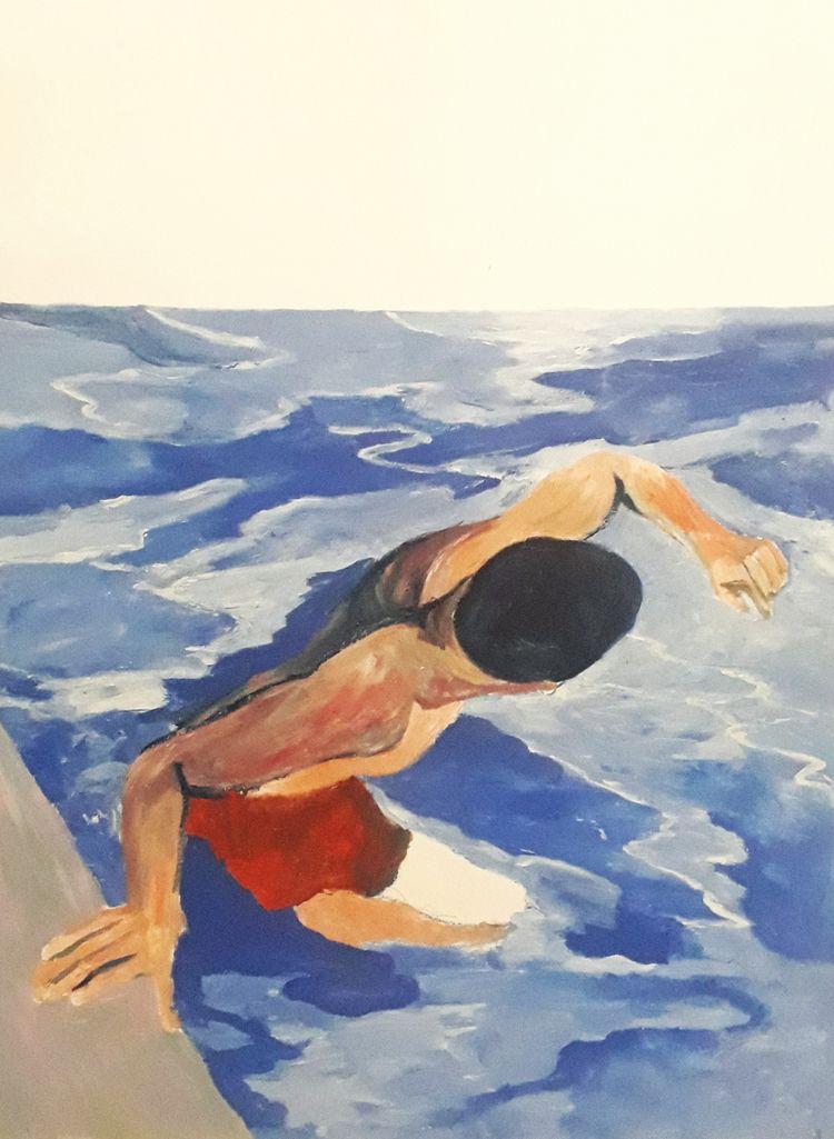 Guillaume Milward _____ Swimmin - nousnus | ello