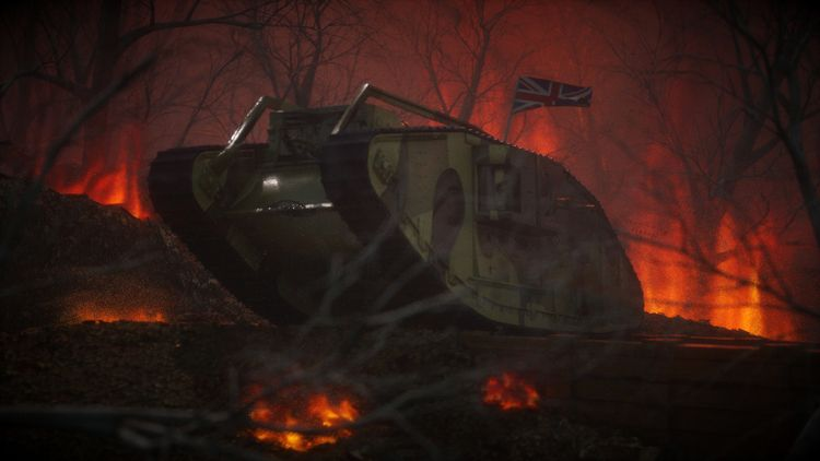 Mark IV - markiv, worldwar1, ww1 - siqho | ello