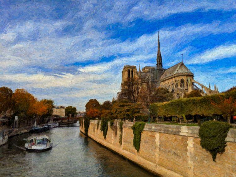 Notre Dame Seine - scalzi   ello