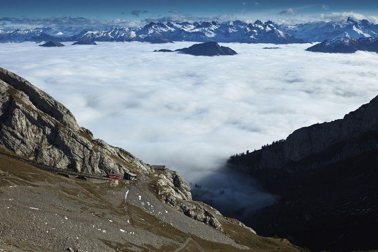 View Pilatus. Swiss Alps - schlichi | ello