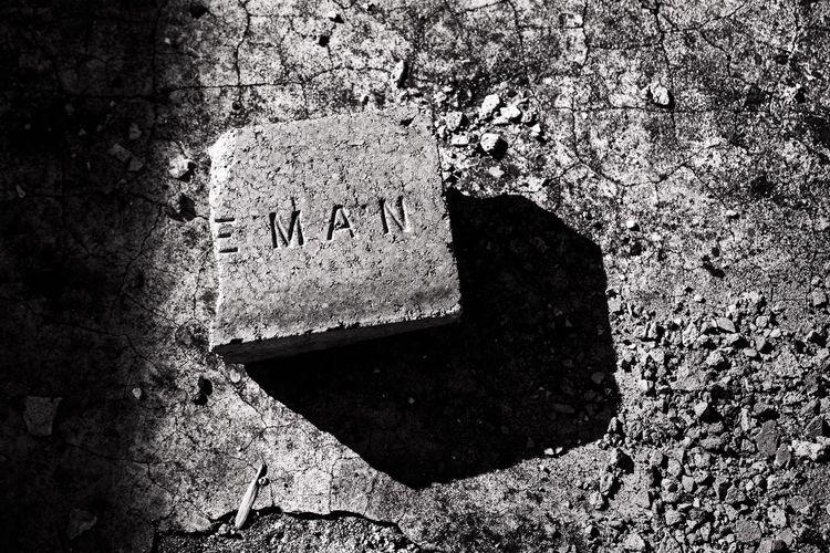 MAN brick ruins Fort Washita, O - 75centralphotography | ello