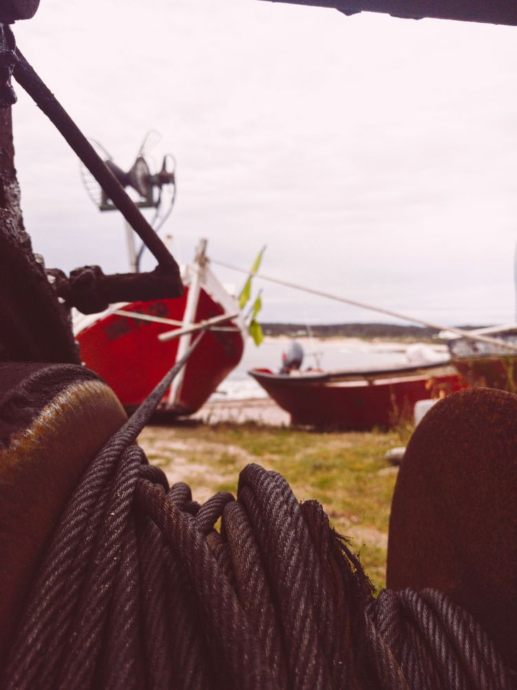 Moored calm - photo, boat, fishing - fedodes | ello