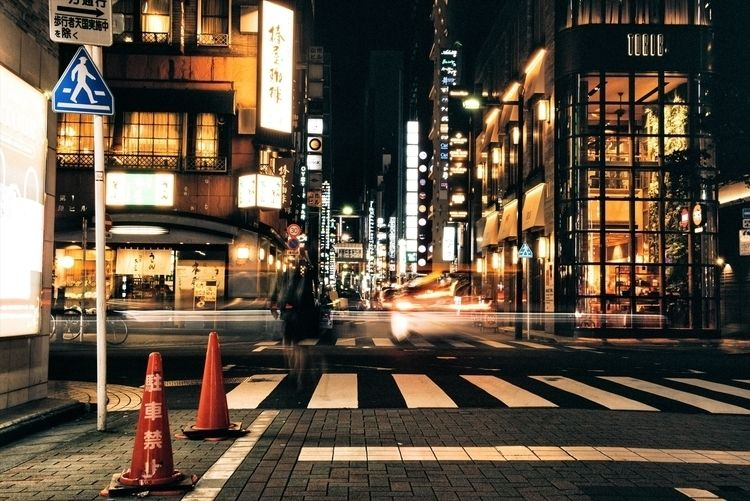 Tokyo State Mind Ginza District - neonicecream | ello
