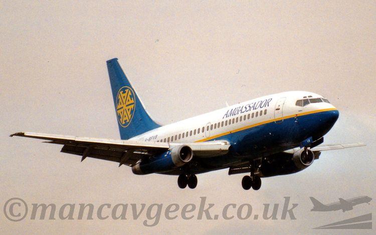 Boeing 737-204, Ambassador Airw - mancavgeek | ello