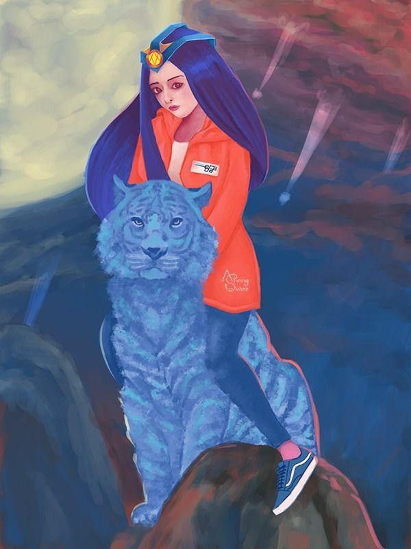 Princess Moon Mirana Dota 2 her - aspiringswine | ello