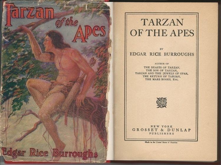 Tarzan Apes, 1914 edition, orig - ccruzme   ello