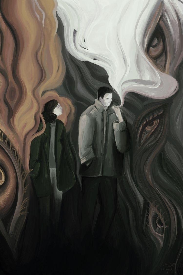 Cigarette Daydreams, November 2 - chloehalbert | ello