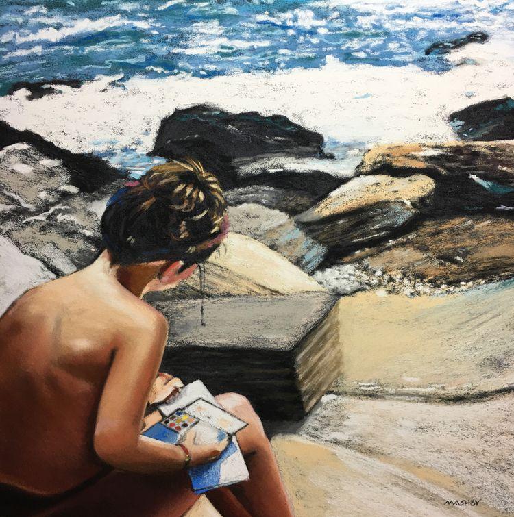 16 Pastel 2018 SOLD - fineart, art - micheleashby | ello
