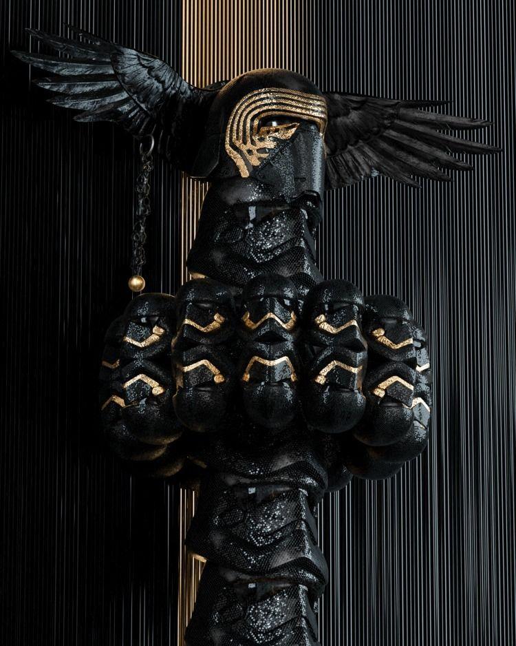 Totem - texture, cyberpunk, neon - skeeva | ello