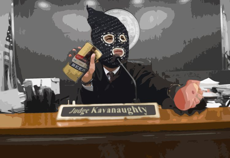 'Kavanaughty' | 2018 TAS beerbo - terrorartsquad | ello