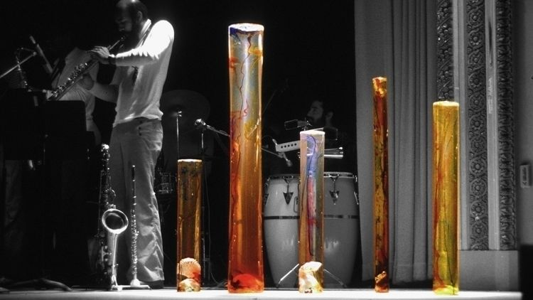 5 cast acrylic columns time jaz - thoskite | ello