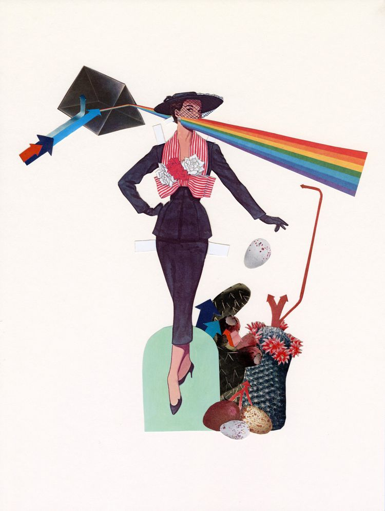Nice girls - collage, vintagefashion - danielletcole | ello